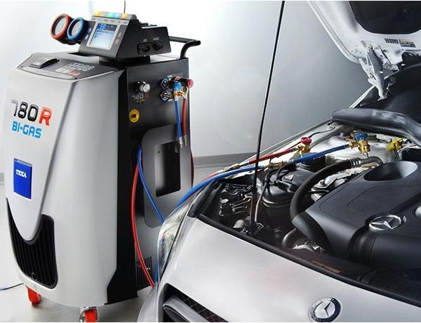 freoonipunkt soodus autokliima konditsioneer täitmine hooldus remont R134a R1234yf